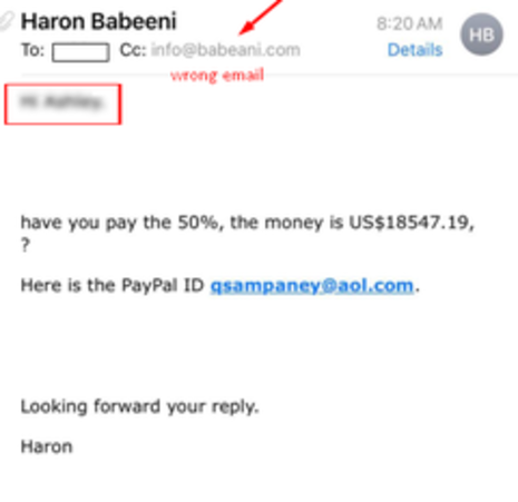 Warning: a prank email is attacking