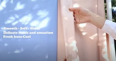 The Art of Handmade: Cotton Satin Fabric
