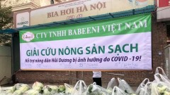 Rescuing fresh agricultural produce from Hai Duong
