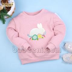 rabbit-applique-baby-cardigan---st-108